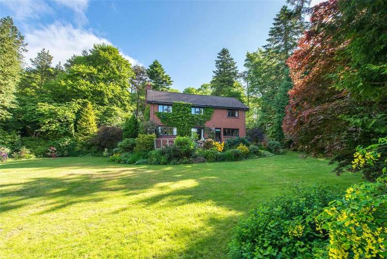 4 Bedrooms Detached House for sale in Greenways, Medwyn Road, West Linton, Peeblesshire