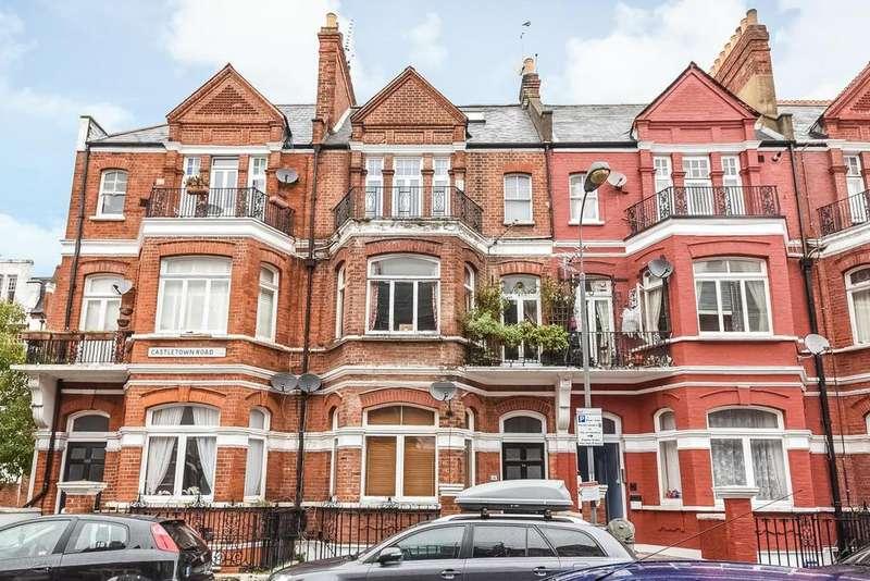 1 Bedroom Flat for sale in Castletown Road, Barons Court