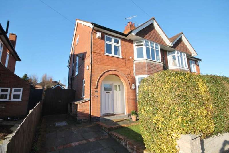 3 Bedrooms Semi Detached House for sale in Clarefield Road, Western Park, Leicester LE3