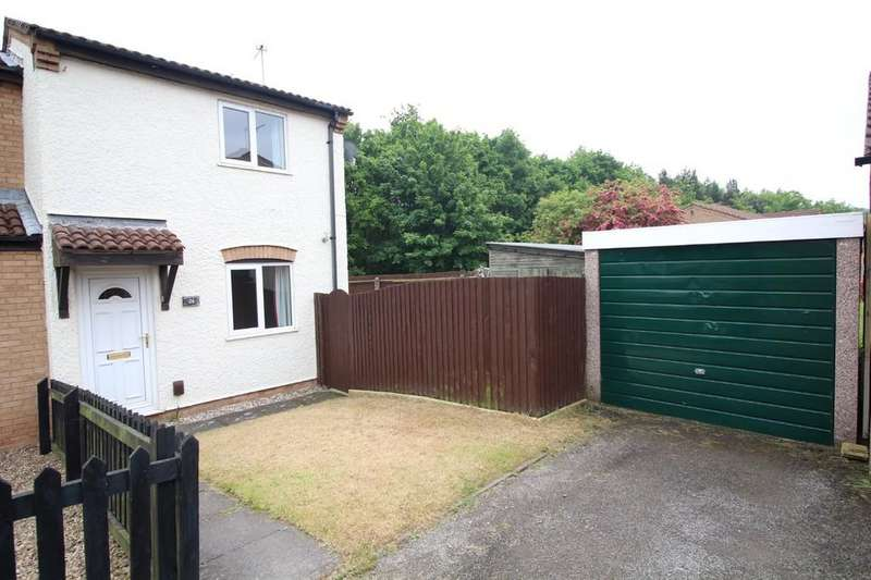 2 Bedrooms End Of Terrace House for sale in Chiltern Avenue, Shepshed
