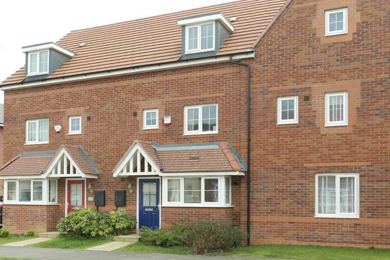 4 Bedrooms Town House for sale in Angell Drive, Market Harborough