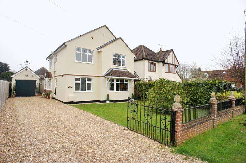 4 Bedrooms Detached House for sale in Church Road, Elmstead, Colchester