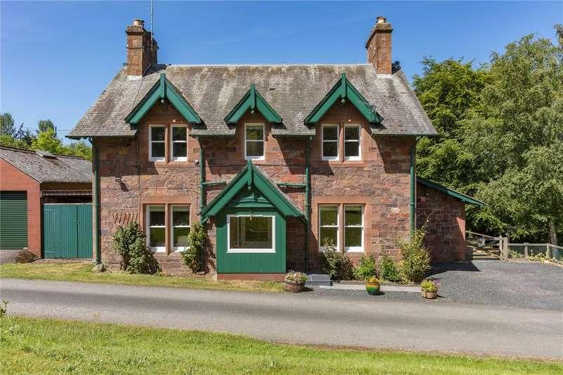 4 Bedrooms Detached House for sale in North Lodge, Drygrange, Melrose, Scottish Borders