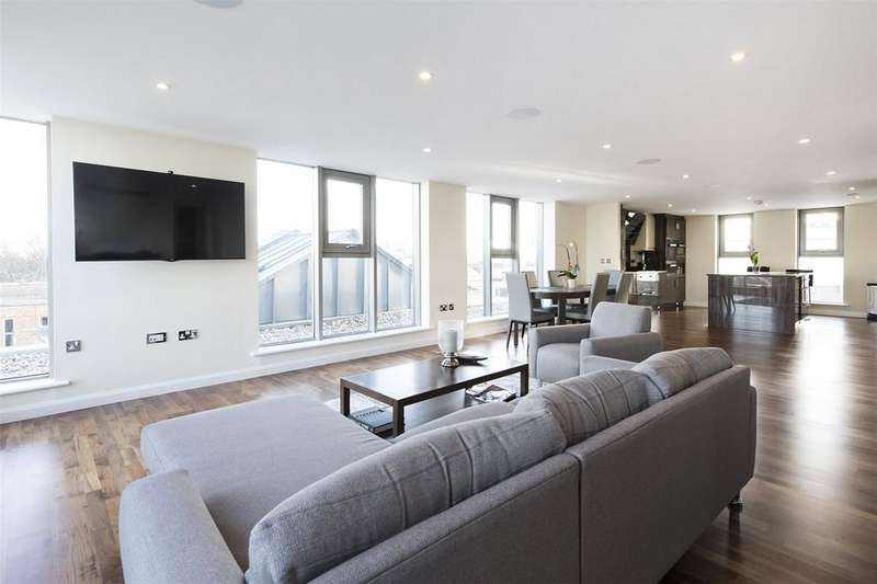 4 Bedrooms Penthouse Flat for sale in Dungannon House, 15 Vanston Place, Fulham, London