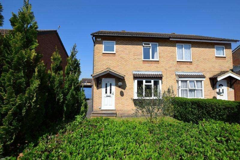 3 Bedrooms Semi Detached House for sale in Lambourne Avenue, Aylesbury