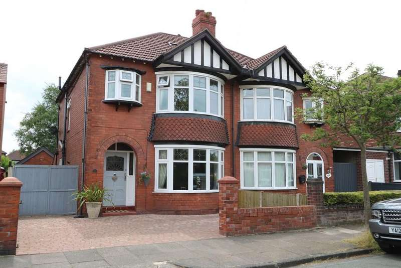 3 Bedrooms Semi Detached House for sale in Knypersley Avenue, Offerton
