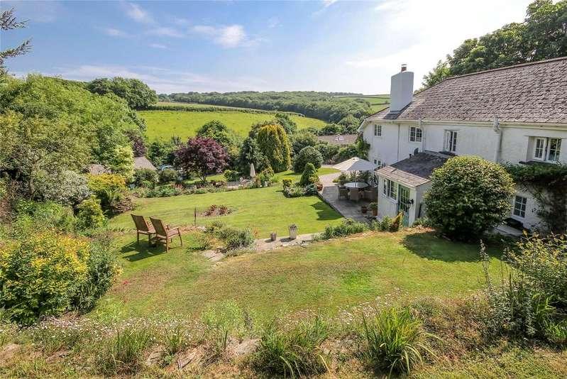 5 Bedrooms Detached House for sale in Brownston, Nr Modbury, Devon, PL21
