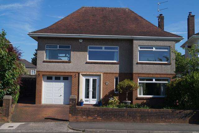 4 Bedrooms Detached House for sale in King George V Drive, Heath, Heath, Cardiff CF14