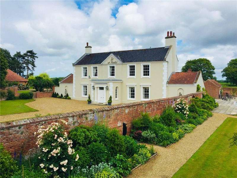 6 Bedrooms Country House Character Property for sale in Stibbard Road, Fulmodeston, Fakenham, Norfolk, NR21