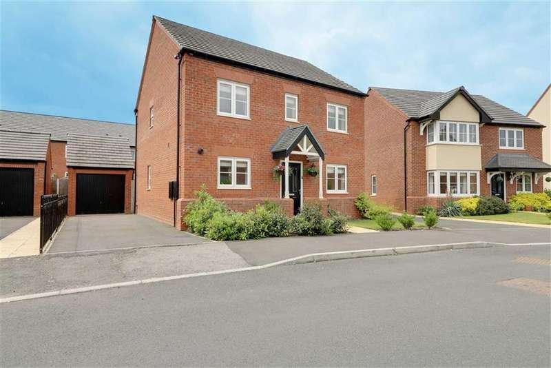 4 Bedrooms Detached House for sale in Barnton Way, Sandbach