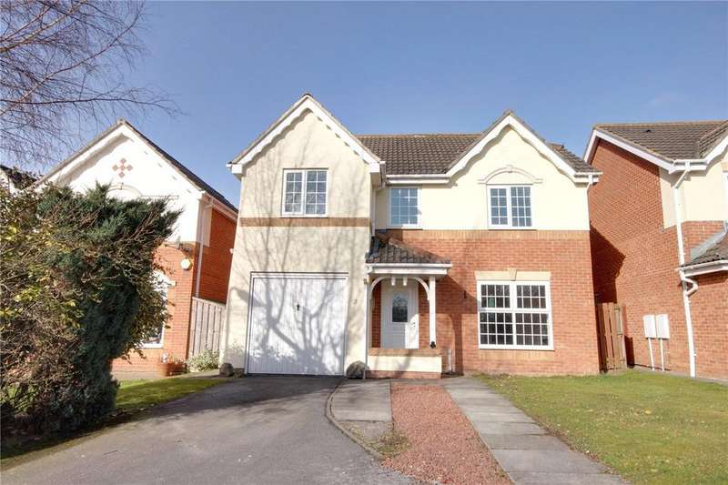 4 Bedrooms Detached House for sale in Pease Court, Eaglescliffe
