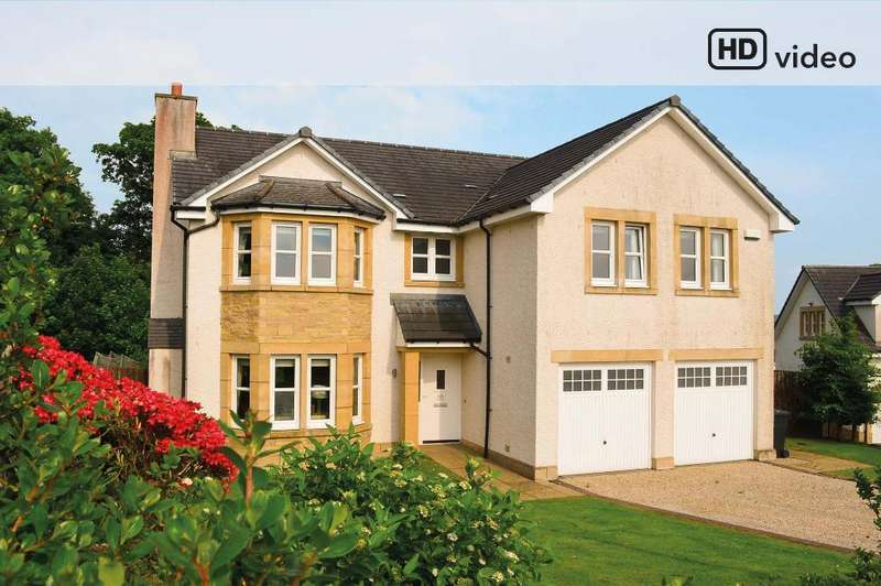 4 Bedrooms Detached House for sale in Helenslee Place, Dumbarton, West Dunbartonshire, G82 4BY