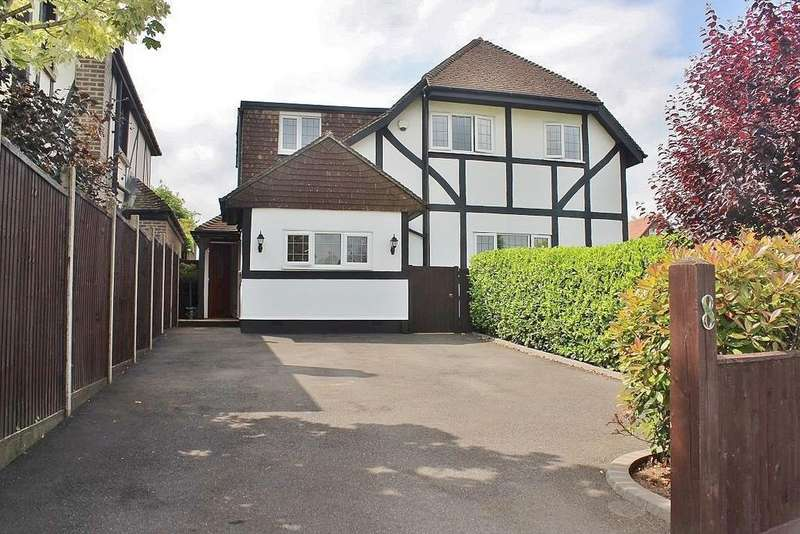 4 Bedrooms Detached House for sale in The Brow, Widley