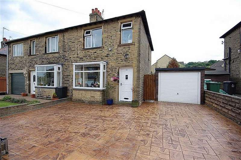 2 Bedrooms Semi Detached House for sale in Greystone Avenue, Elland, HX5