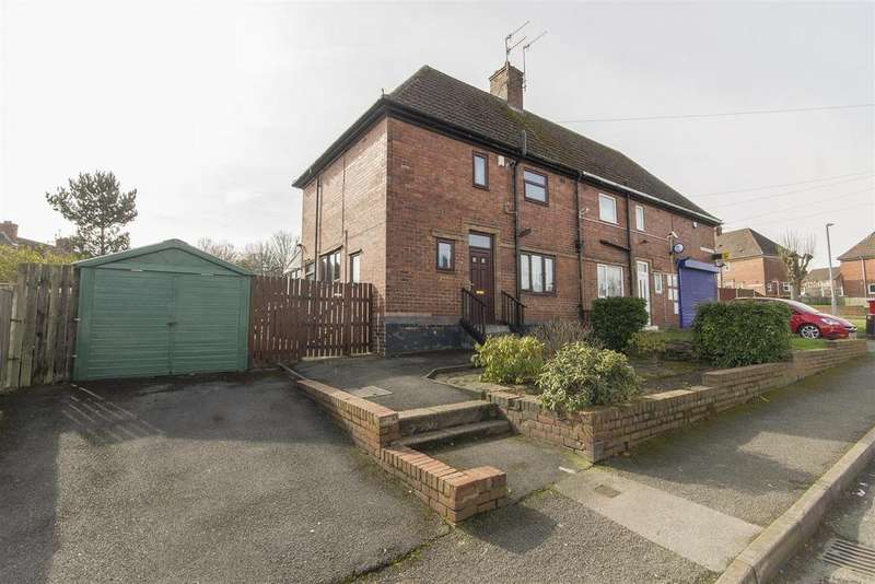 2 Bedrooms Semi Detached House for sale in St. Augustines Drive, Chesterfield