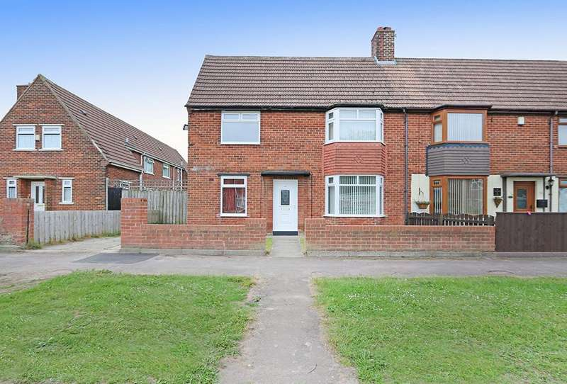 2 Bedrooms End Of Terrace House for sale in Benmore Road, Rossmere, Hartlepool TS25