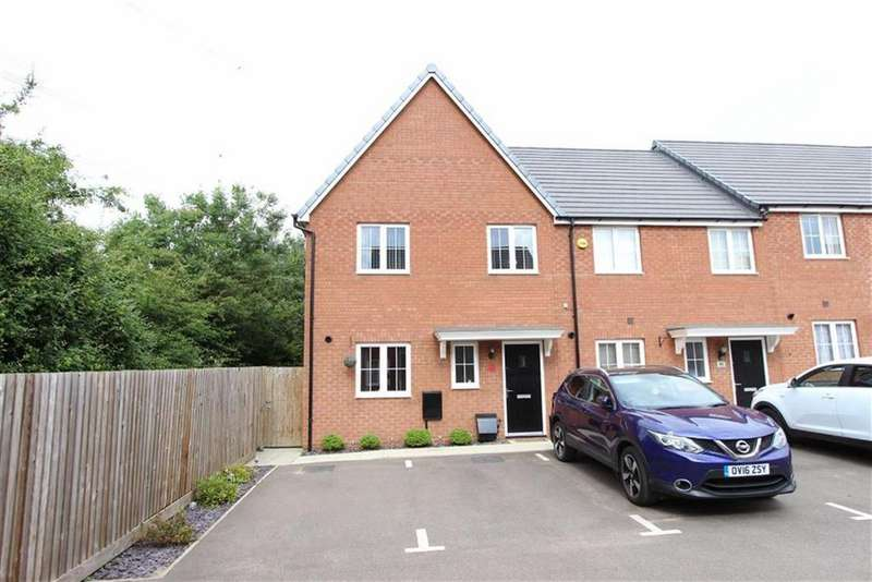 3 Bedrooms End Of Terrace House for sale in Fortuna Mead, Leighton Buzzard