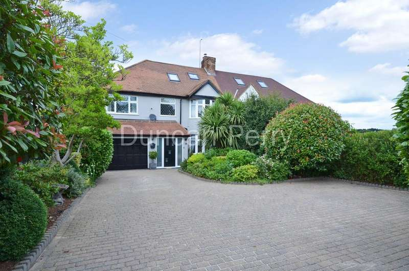 4 Bedrooms Semi Detached House for sale in Swanley Bar Lane, Little Heath, Herts