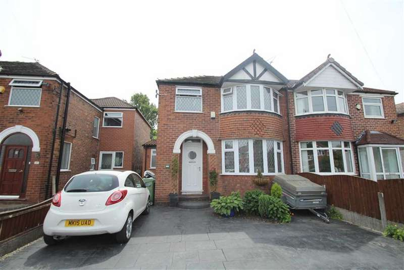3 Bedrooms Semi Detached House for sale in Woodhouse Lane East, Timperley, Altrincham