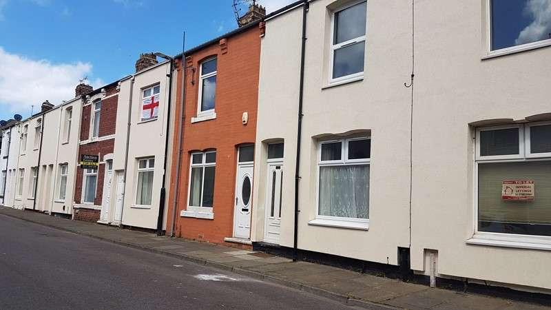 2 Bedrooms Property for sale in Derby Street, Hartlepool, Durham, TS25 5SL
