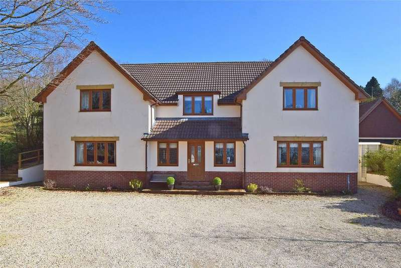 4 Bedrooms Detached House for sale in Crewkerne Road, Raymonds Hill, Axminster, Devon