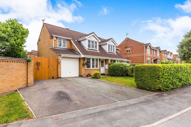 3 Bedrooms Semi Detached House for sale in Channing Way, Ellistown, Coalville, LE67