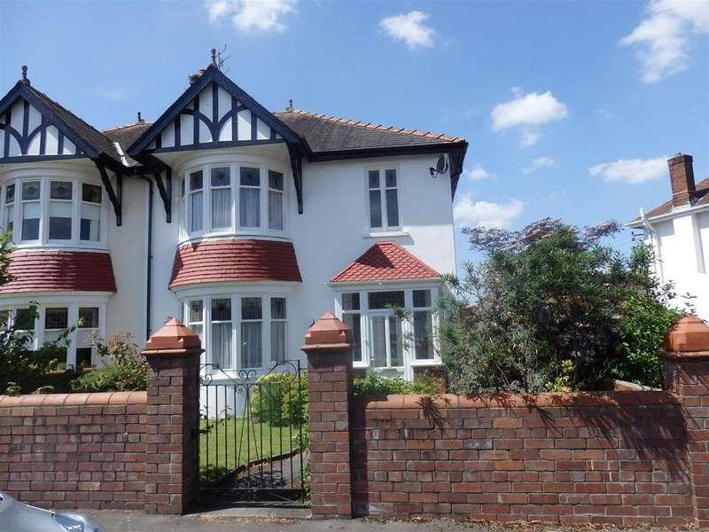 3 Bedrooms Semi Detached House for sale in Spowart Avenue, Llanelli