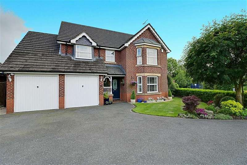 4 Bedrooms Detached House for sale in Pear Tree Field, Nantwich