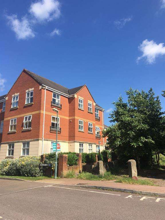 2 Bedrooms Flat for sale in Hallen Close, Emersons Green, Bristol, BS16 7JE
