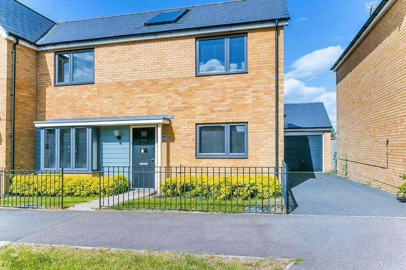 3 Bedrooms Semi Detached House for sale in Butter Row, Wolverton