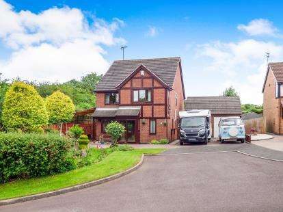 4 Bedrooms Detached House for sale in Brechin Close, Arnold, Nottingham, Nottinghamshire