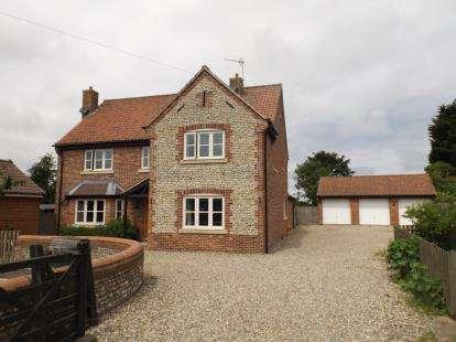 5 Bedrooms Detached House for sale in Trunch, North Walsham, Norfolk