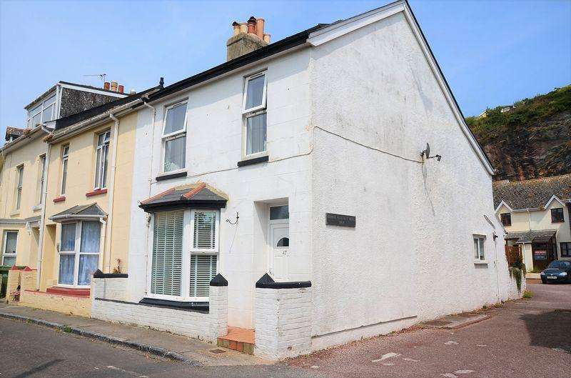 3 Bedrooms Terraced House for sale in MOUNT PLEASANT ROAD, BRIXHAM