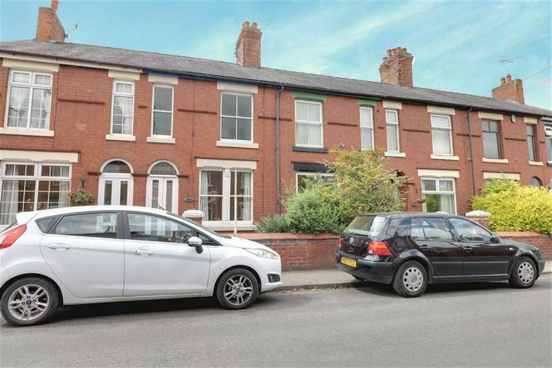 2 Bedrooms Terraced House for sale in George Street, Elworth, Sandbach