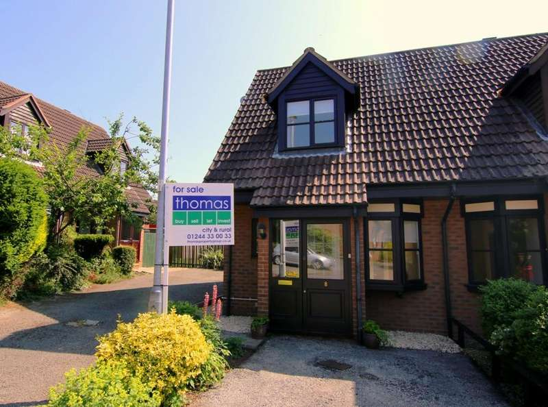 2 Bedrooms End Of Terrace House for sale in School Green, Clutton, Chester, CH3