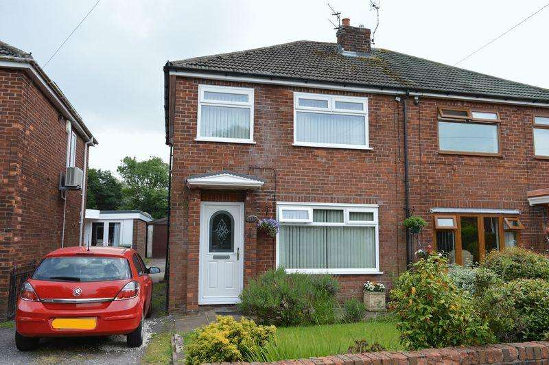 3 Bedrooms Semi Detached House for sale in Rectory Avenue, Lowton, WA3 2DT