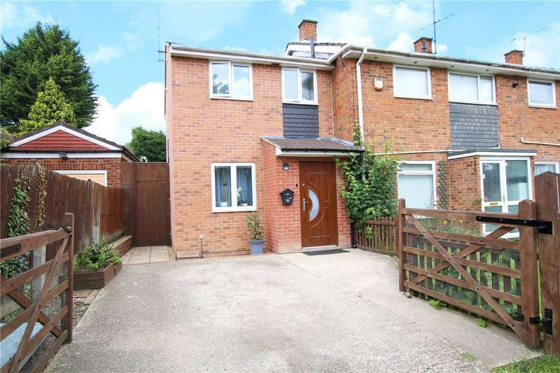 2 Bedrooms End Of Terrace House for sale in Norcot Road, Tilehurst, Reading, Berkshire, RG30