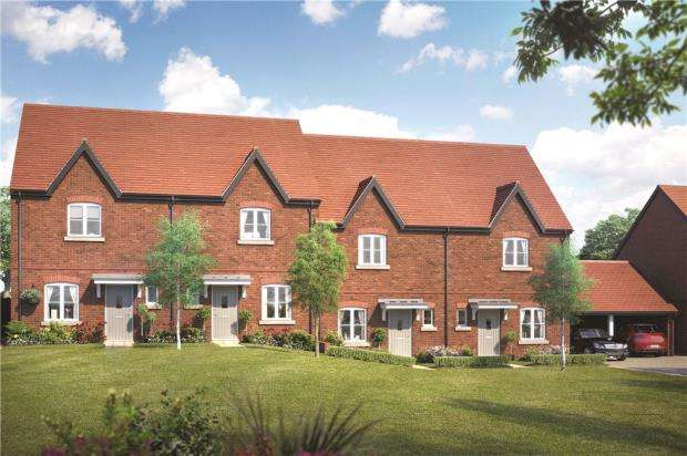 2 Bedrooms Terraced House for sale in Woodhurst Park, Warfield, Berkshire