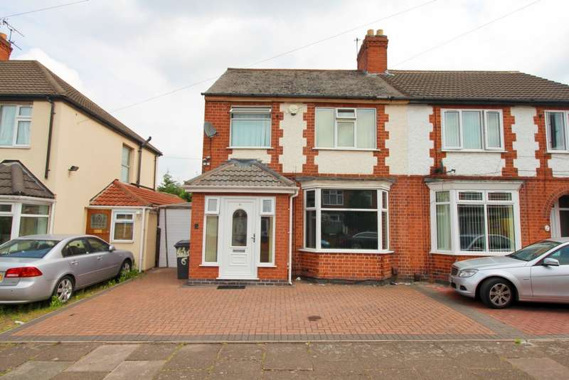 3 Bedrooms Semi Detached House for sale in Bolsover Street, Leicester, LE5