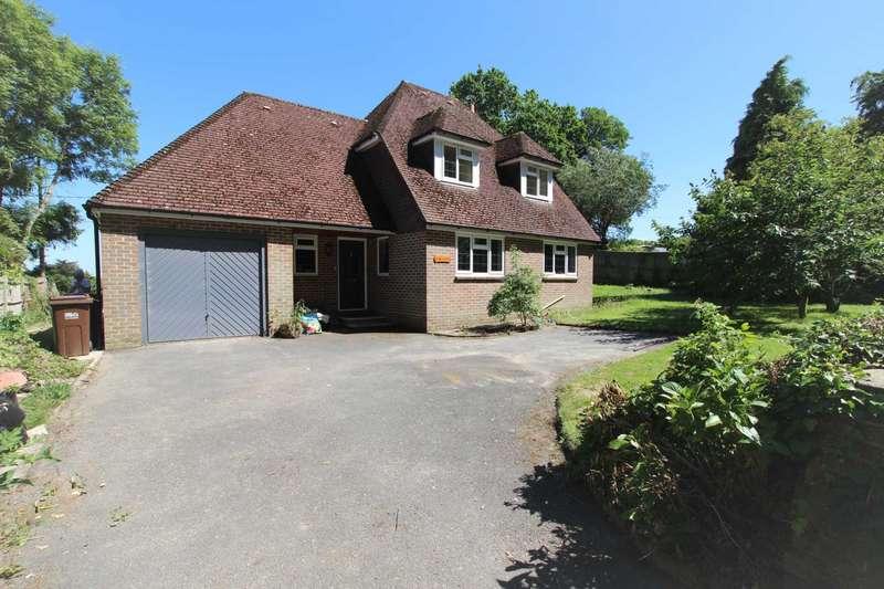 4 Bedrooms Detached House for sale in Folkington Lane, Folkington, BN26 5SA