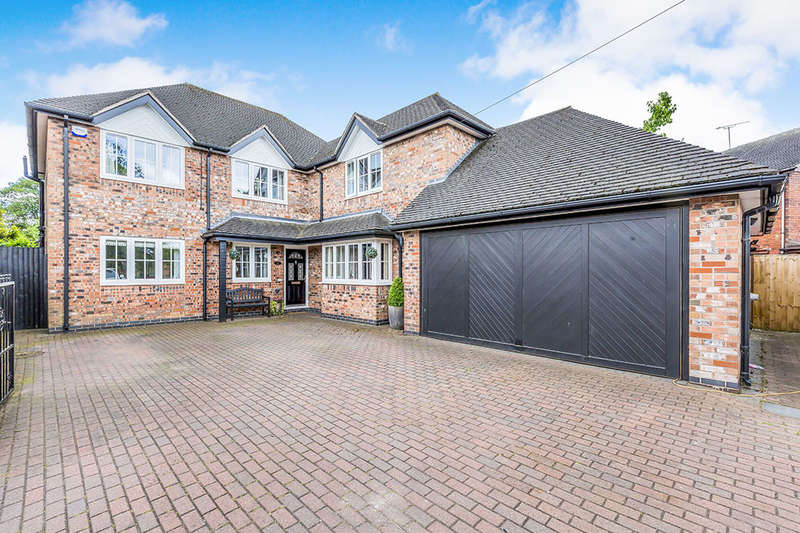 4 Bedrooms Detached House for sale in Sunnycroft Avenue, Stoke-On-Trent, ST3