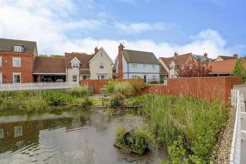 4 Bedrooms Detached House for sale in Rectory Hill, Wivenhoe, Colchester, Essex