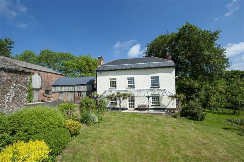 4 Bedrooms Detached House for sale in Chulmleigh, Devon, EX18