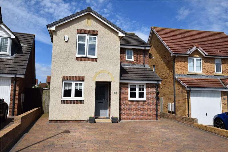 3 Bedrooms Detached House for sale in Marsdon Way, East Shore Village, Seaham, Co Durham, SR7