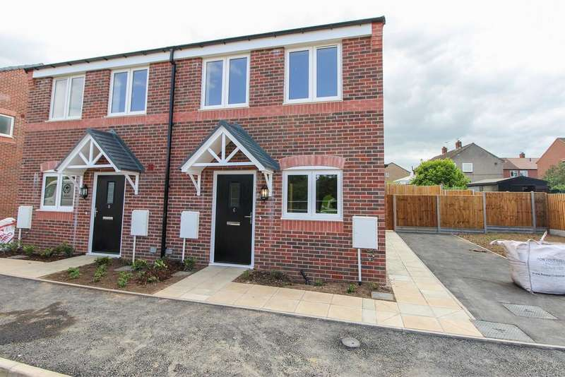 2 Bedrooms Semi Detached House for sale in Carlyle Road (Plot 1), Stonebroom