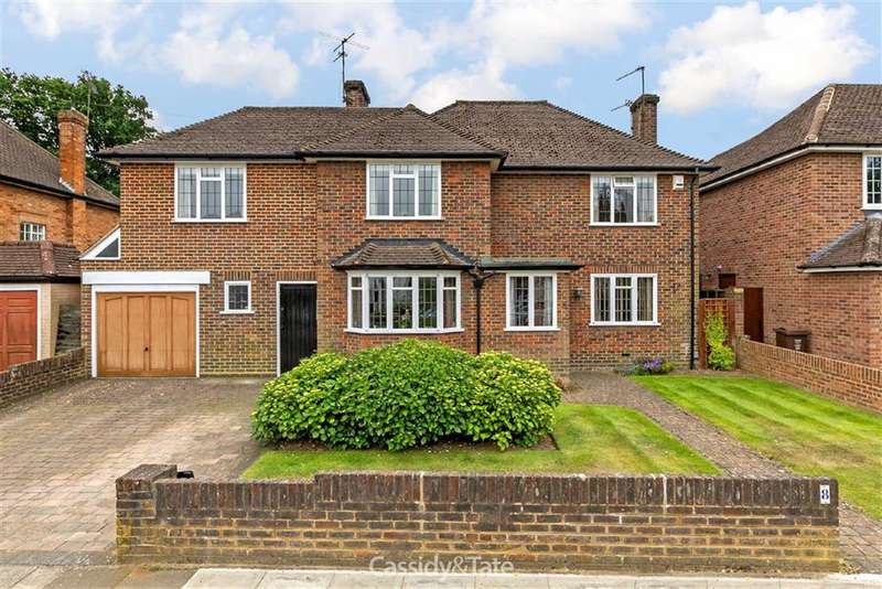 5 Bedrooms Property for sale in Gainsborough Avenue, St Albans, Hertfordshire