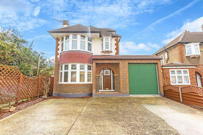 5 Bedrooms Detached House for sale in Leyfield, Worcester Park