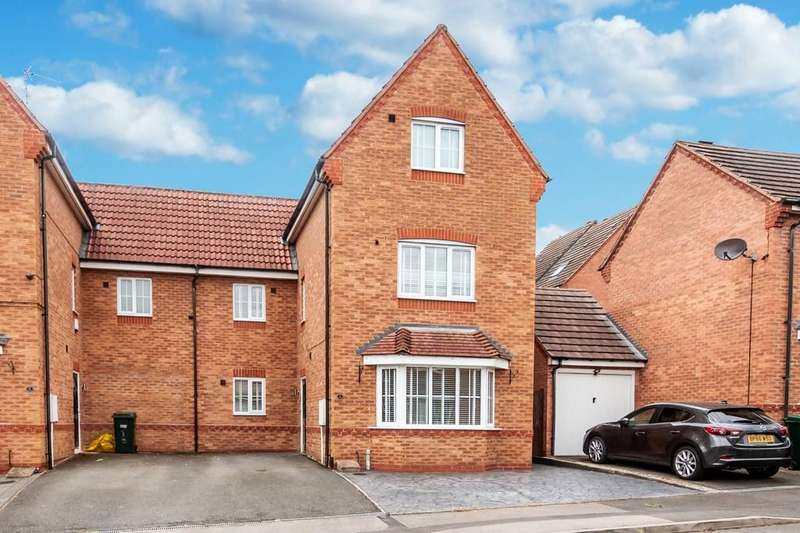 4 Bedrooms Semi Detached House for sale in Loch Street, Binley, Coventry