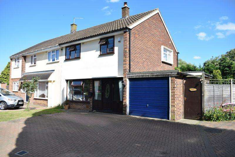 3 Bedrooms Semi Detached House for sale in Broadfield, Harlow, Essex