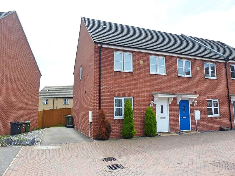 3 Bedrooms End Of Terrace House for sale in Venus Way, Cardea, Peterborough, PE2 8GF